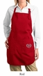 Ladies Apron OM Heart Side Pocket Print Full Length Apron with Pockets
