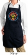 Ladies Apron Psychedelic Peace Full Length Apron with Pockets
