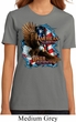 Ladies Biker Shirt American By Birth Organic Tee T-Shirt