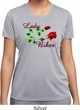 Ladies Biker Shirt Lady Biker Moisture Wicking Tee T-Shirt