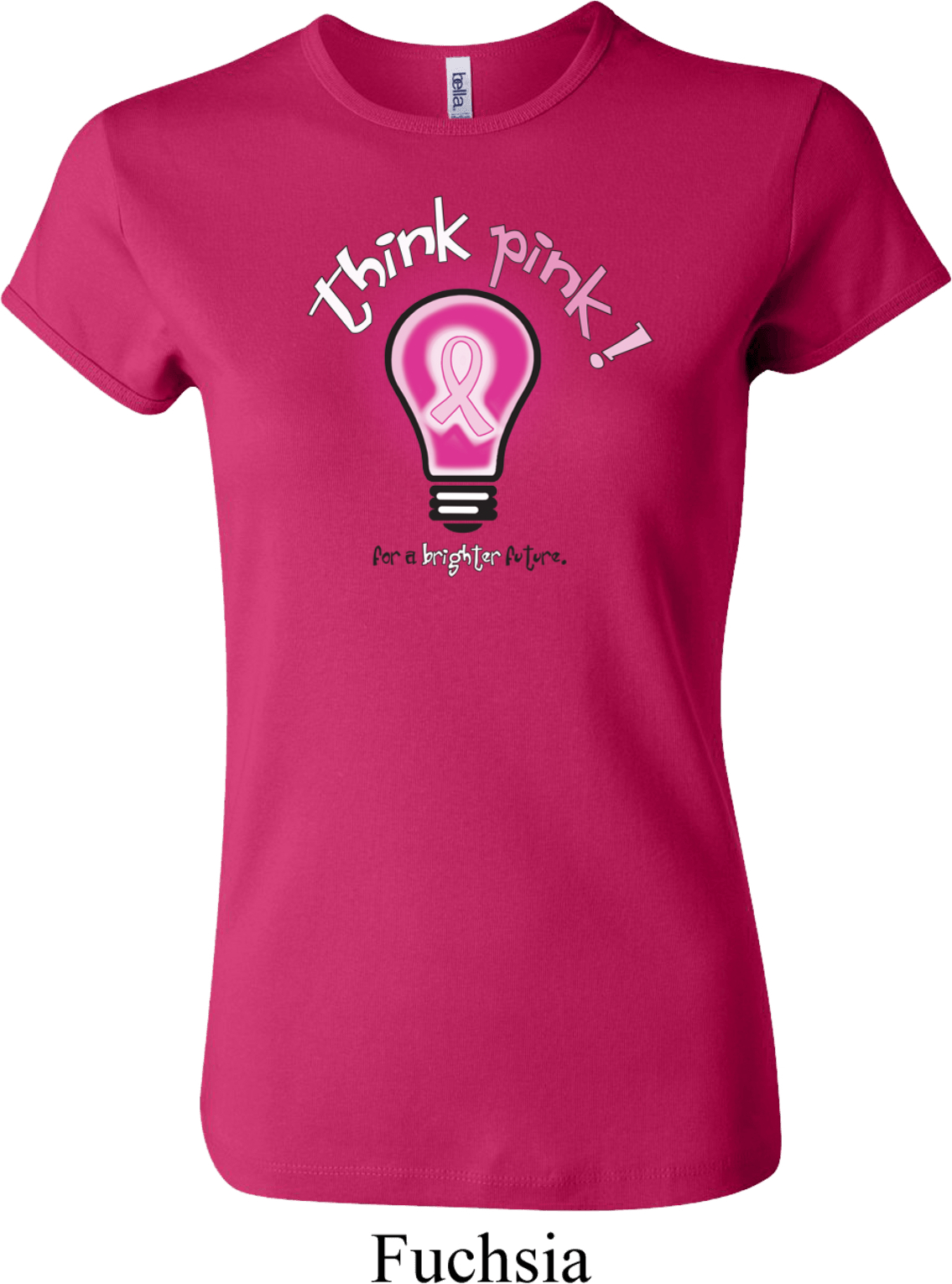 Fight Breast Cancer T-Shirt Pink Ribbon Awareness Tee