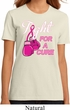Ladies Breast Cancer Shirt Fight For a Cure Organic Tee T-Shirt