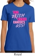 Ladies Breast Cancer Shirt Kicked Cancers Ass Organic Tee T-Shirt