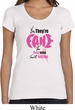Ladies Breast Cancer Shirt Yes, They're Fake Scoop Neck Tee T-Shirt