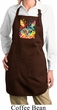 Ladies Cat Apron Blue Eyes Cat Full Length Apron with Pockets