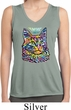 Ladies Cat Tank Top Love Cat Dry Wicking Sleeveless Shirt