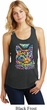 Ladies Cat Tank Top Love Cat Racerback Tanktop