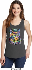 Ladies Cat Tank Top Love Cat Tanktop