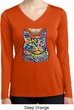 Ladies Cat Tee Love Cat Dry Wicking Long Sleeve