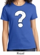 Ladies Distressed Question Shirt