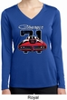 Ladies Dodge 1971 Charger Dry Wicking Long Sleeve Shirt