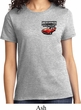 Ladies Dodge American Made Muscle Pocket Print Shirt