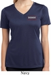 Ladies Dodge Brothers Pocket Print Moisture Wicking V-neck Shirt