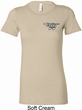 Ladies Dodge Challenger 1974 Pocket Print Longer Length Shirt