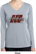 Ladies Dodge Charger RT Logo Dry Wicking Long Sleeve Shirt