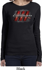 Ladies Dodge Charger RT Logo Long Sleeve Shirt