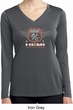 Ladies Dodge Garage Hemi Moisture Wicking Long Sleeve Shirt