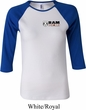 Ladies Dodge Hemi Pocket Print Raglan Shirt