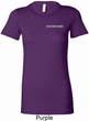 Ladies Dodge Logo Pocket Print Longer Length Shirt