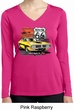 Ladies Dodge Route 66 Charger RT Dry Wicking Long Sleeve Shirt