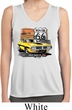 Ladies Dodge Route 66 Charger RT Sleeveless Dry Wicking Shirt