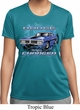 Ladies Dodge Shirt Blue Dodge Charger Moisture Wicking Tee T-Shirt