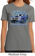 Ladies Dodge Shirt Blue Dodge Charger Organic Tee T-Shirt
