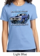 Ladies Dodge Shirt Blue Dodge Charger Tee T-Shirt