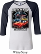 Ladies Dodge Shirt Chrysler American Made Raglan Tee T-Shirt