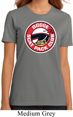 Ladies Dodge Shirt Dodge Scat Pack Club Organic Tee T-Shirt