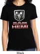 Ladies Dodge Shirt Ram Hemi Logo Tee T-Shirt