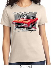 Ladies Dodge Shirt Red Challenger Tee T-Shirt