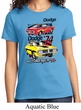 Ladies Dodge Shirt Vintage Chargers Tee T-Shirt