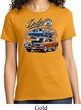 Ladies Dodge Tee Blue and Orange Super Bee T-shirt