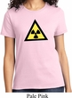 Ladies Fallout Shirt Radioactive Triangle Tee T-Shirt
