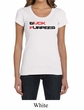 Ladies Fitness Shirt Buck Furpees Scoop Neck Tee T-Shirt