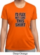 Ladies Fitness Shirt Id Flex Moisture Wicking Tee T-Shirt