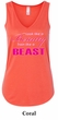 Ladies Fitness Tanktop Look Like a Beauty Flowy V-neck Tank Top