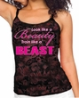 Ladies Fitness Tanktop Look Like a Beauty Tie Dye Camisole Tank Top