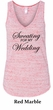 Ladies Fitness Tanktop Sweating For My Wedding Flowy V-neck Tank Top