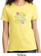 Ladies Flower Shirt Sunflower Tee T-Shirt