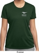 Ladies Ford 50 Years Pocket Print Moisture Wicking Shirt