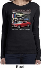 Ladies Ford Classic Mustangs Untamed Long Sleeve