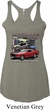 Ladies Ford Classic Mustangs Untamed Tri Blend Racerback