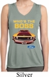 Ladies Ford Mustang Who's The Boss Sleeveless Moisture Wicking Shirt