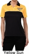 Ladies Ford Polo Mustang Pocket Print Dry Wicking Polo