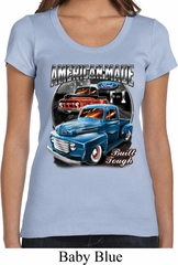 Ladies Ford Shirt American Made Scoop Neck Shirt