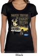 Ladies Ford Shirt Driving and Tagging Bucks Scoop Neck Shirt