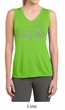 Ladies Ford Shirt Honeycomb Grille Sleeveless Moisture Wicking Tee