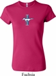 Ladies Ford Shirt Legend Lives Crest Small Print Crewneck Tee T-Shirt